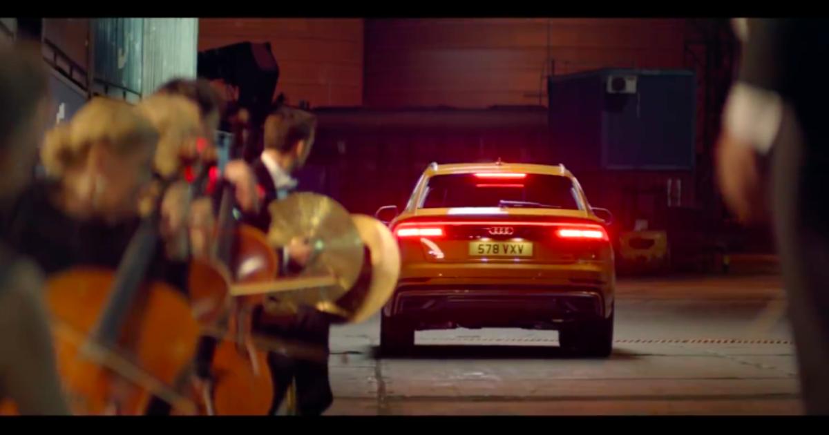 Оркестр Одесской филармонии и Одесский порт снялись в рекламе Audi.