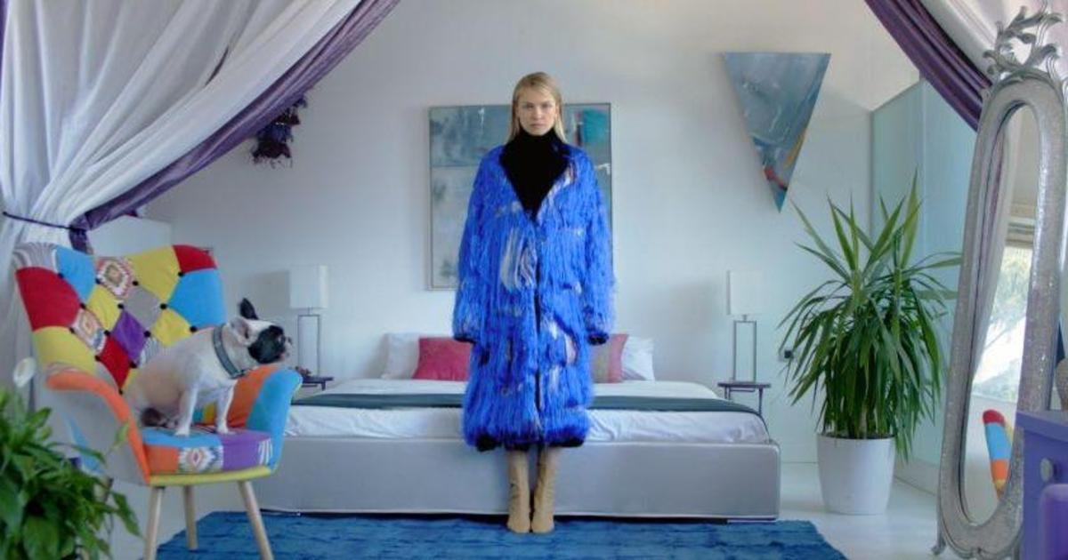 Украинская модель снялась в рекламе Недели моды в Милане.
