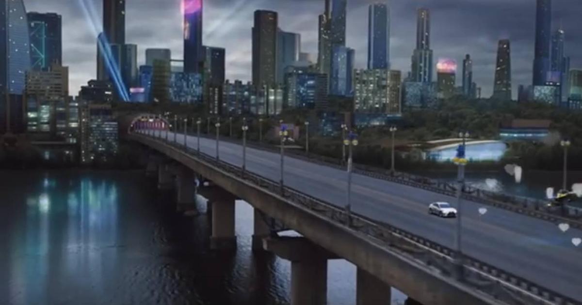 Киев превратили в футуристичный город в эпичной рекламе Lexus.