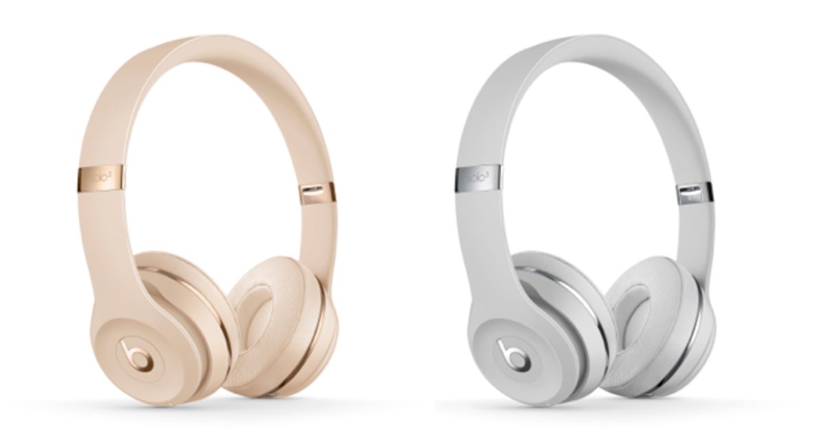 Beats выпустил наушники под цвет новых iPhone.