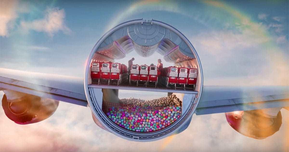 Украинский продакшн поработал над роликом для Virgin Atlantic.