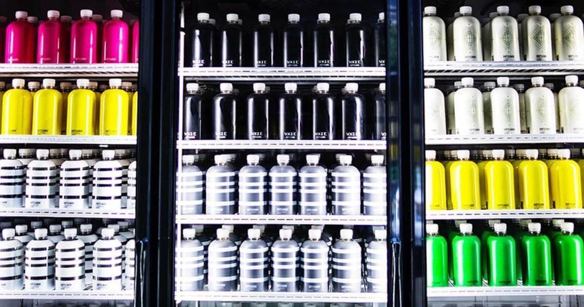 Производитель напитков открыл магазин без касс в Нью-Йорке.