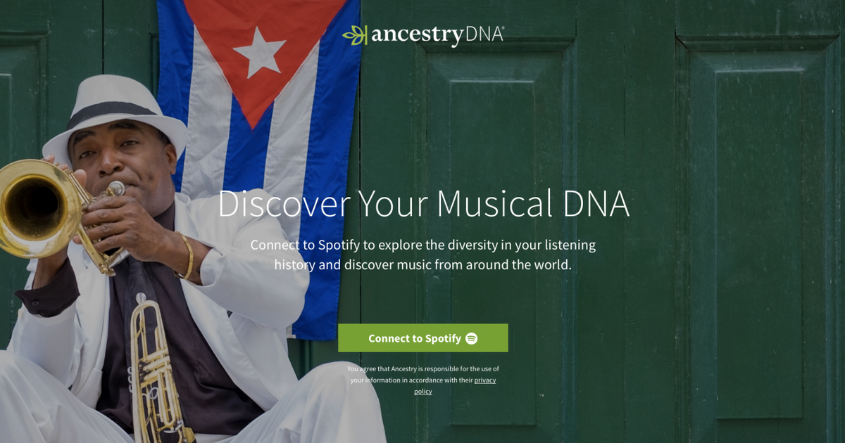 Spotify предложил пользователям создавать плейлисты на основе их ДНК.