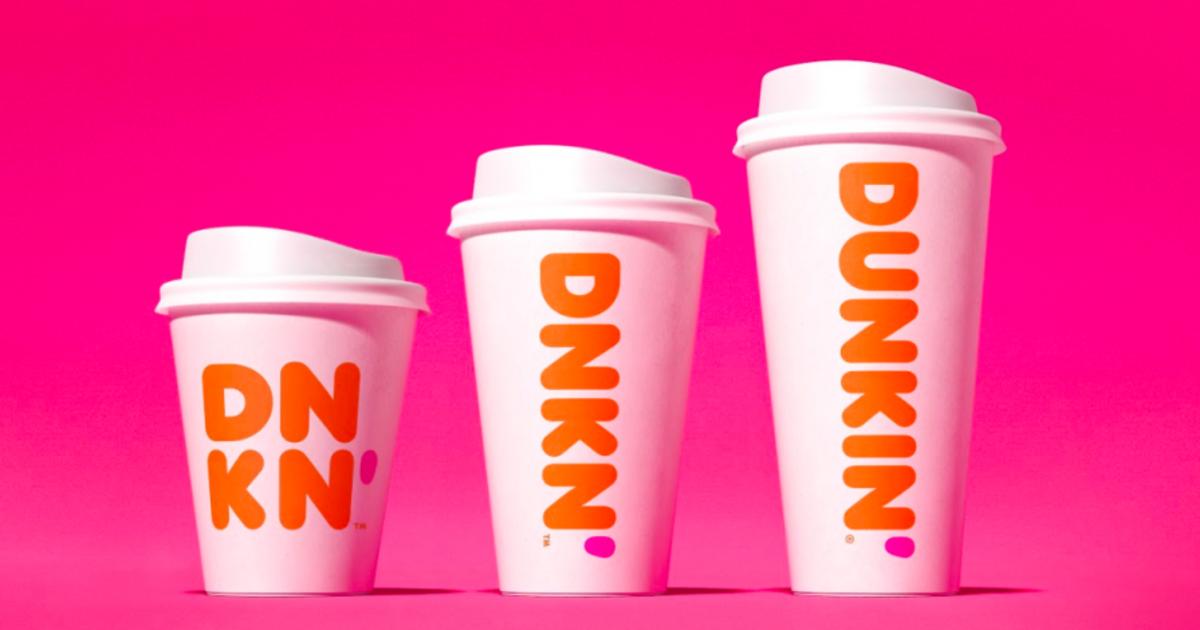Dunkin' Donuts провел ребрендинг, чтобы сфокусироваться на кофе.