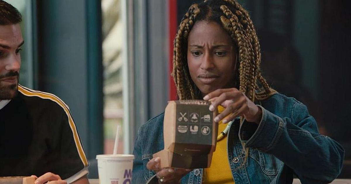 McDonald's превратил упаковку для бургера в музыкальную шкатулку.
