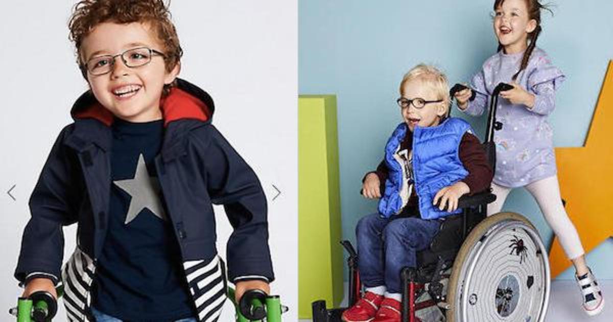 Marks & Spencer выпустил одежду для детей с ограниченными возможностями.
