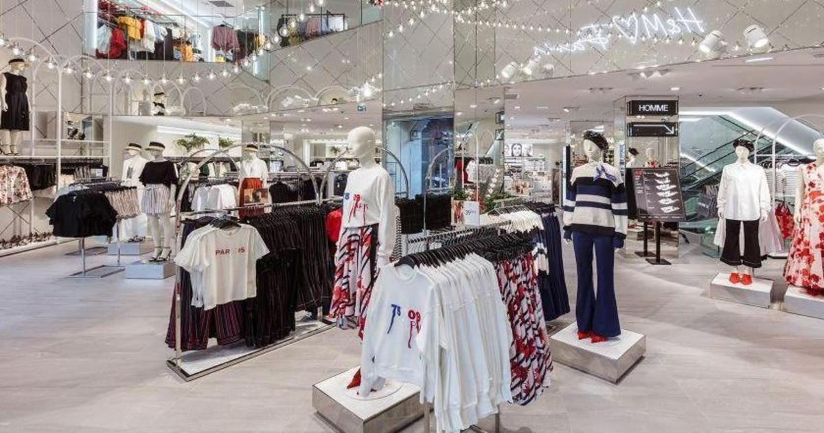 H&M открыл магазин нового формата с кафе.