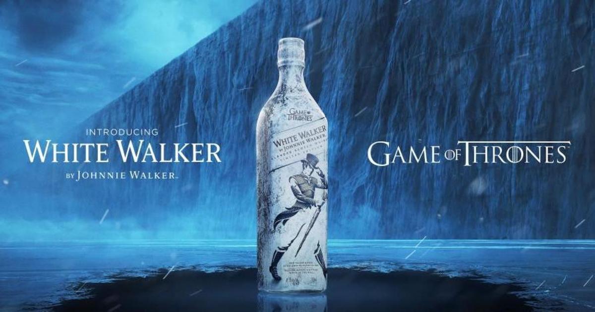 Johnnie Walker подаст замороженный скотч, вдохновившись Белыми ходоками.