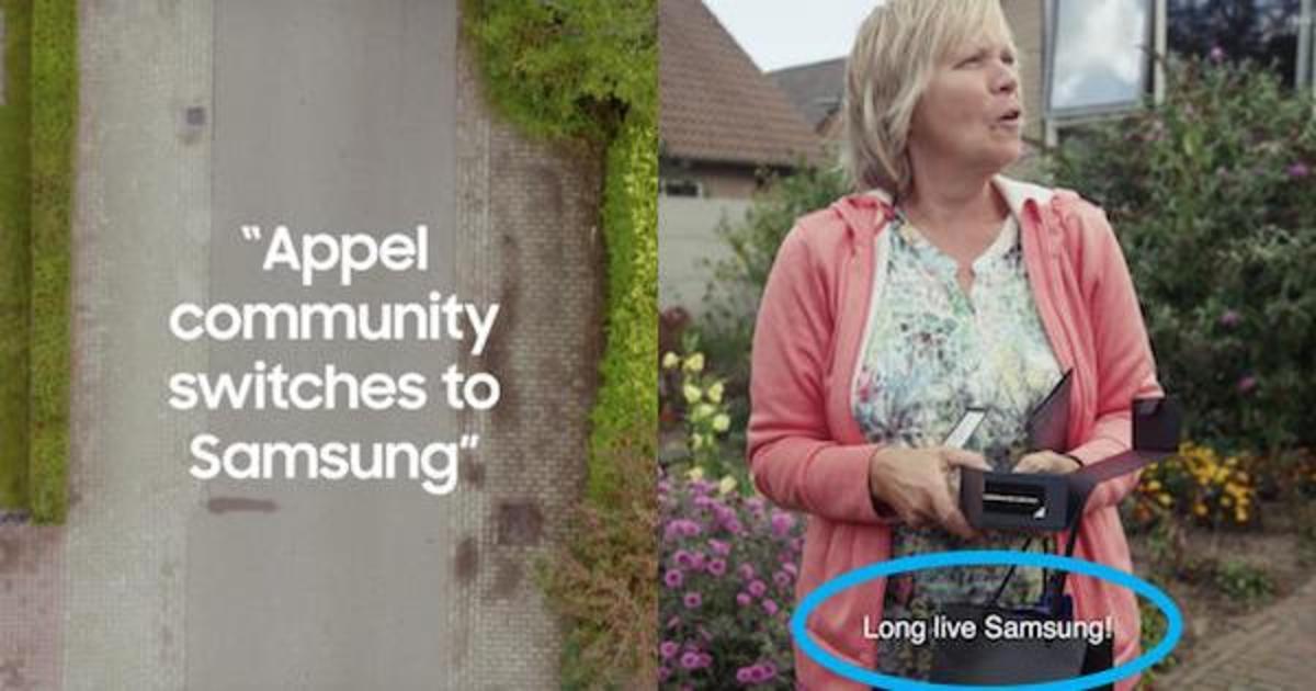 Samsung бесплатно раздал Galaxy S9 жителям городка Appel.
