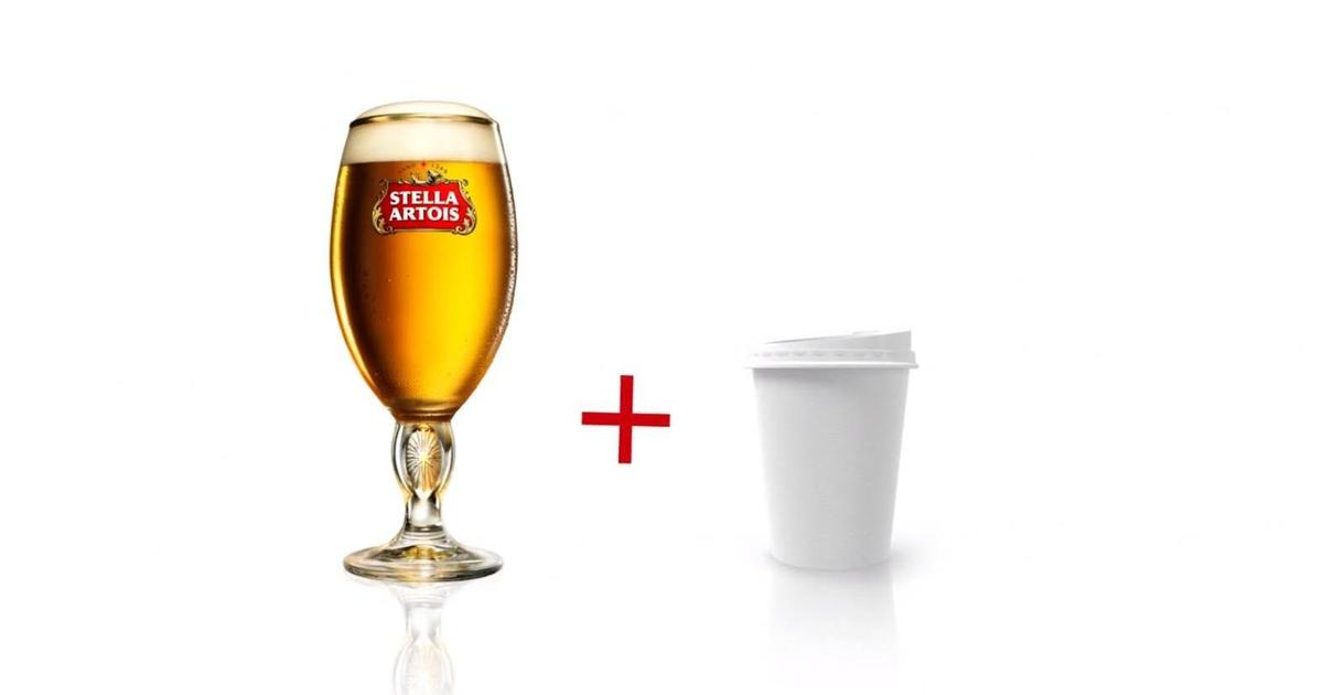 Stella Artois запустила сервис «пиво to go».