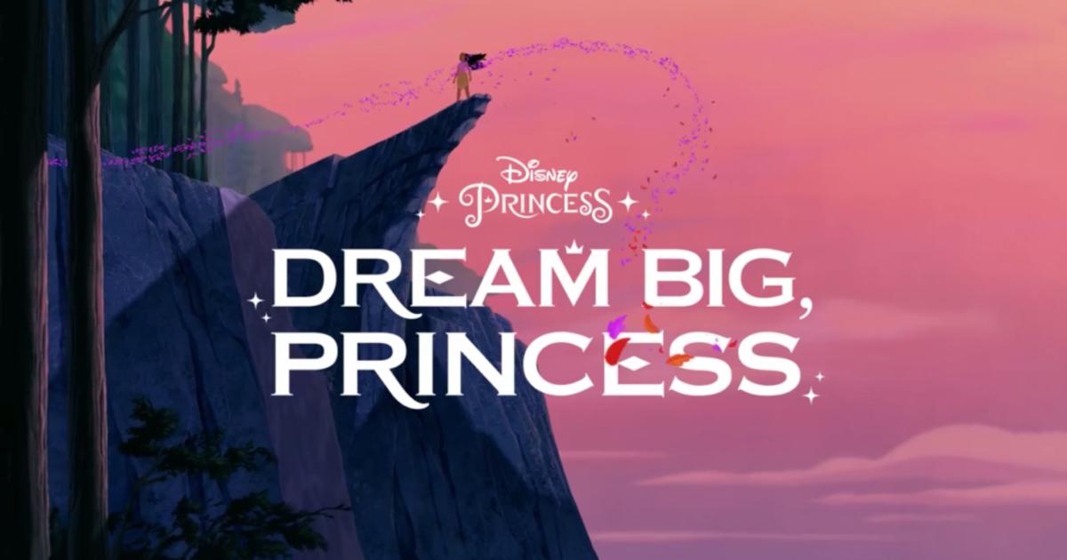 Disney вдохновляет новое поколение лидеров кампанией #DreamBigPrincess.