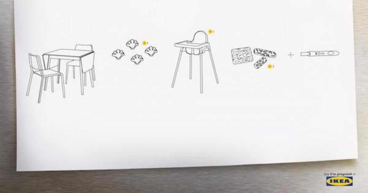 Для IKEA создали принты о любви из собственной фурнитуры.