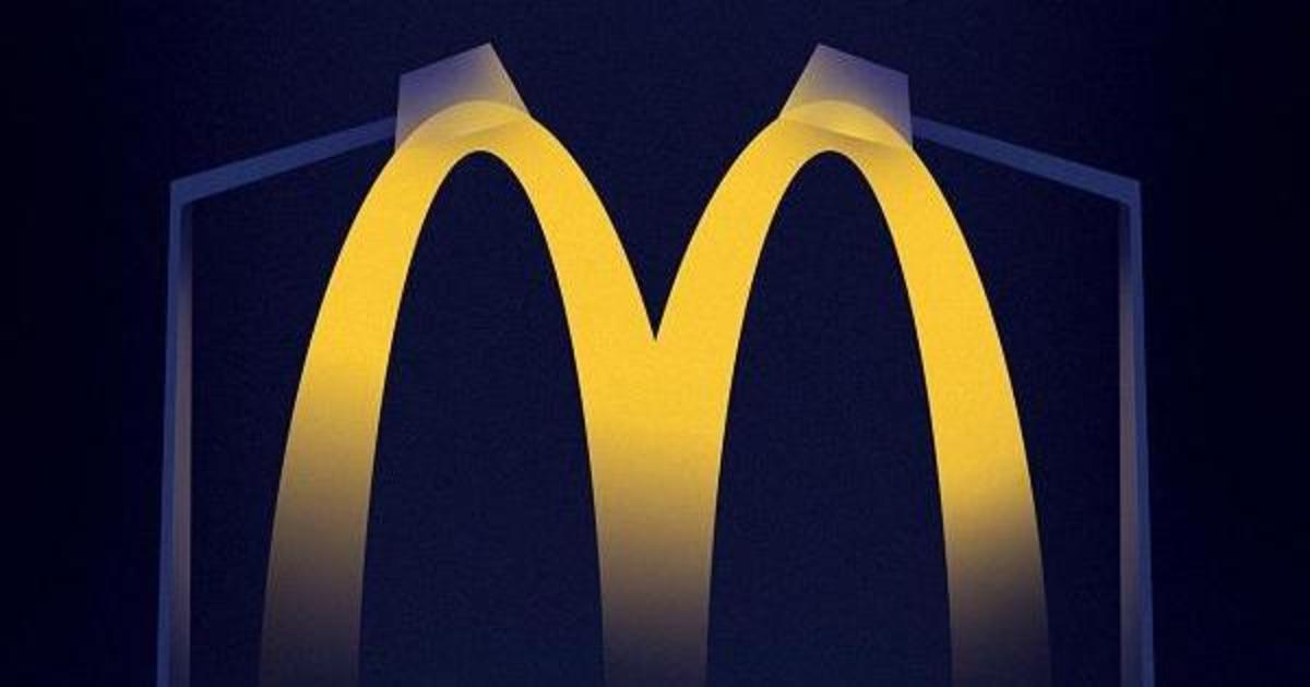 Лого McDonald's стало светом, направляющим к ресторанам.