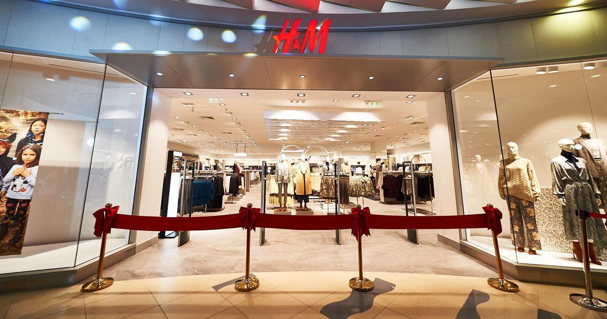 H&M открыл второй магазин в киевском ТРЦ SkyMall.