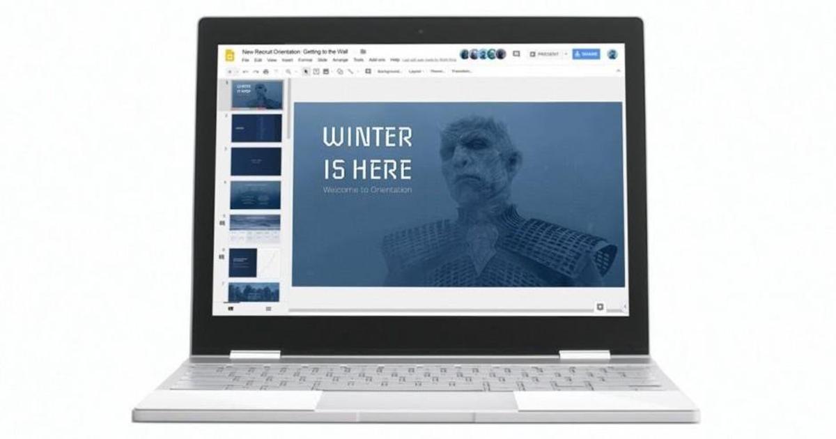 Google пригласил присоединиться к армии Короля Ночи в рекламе Chromebook.