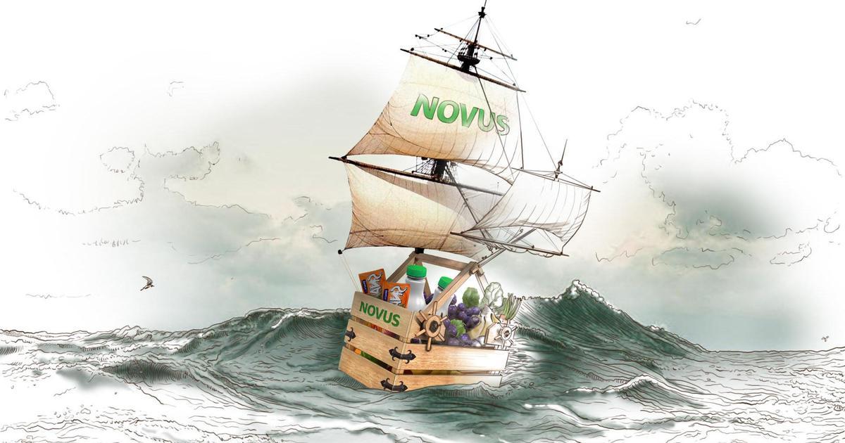 Novus сравнил себя с Ноевым ковчегом в промо акции.