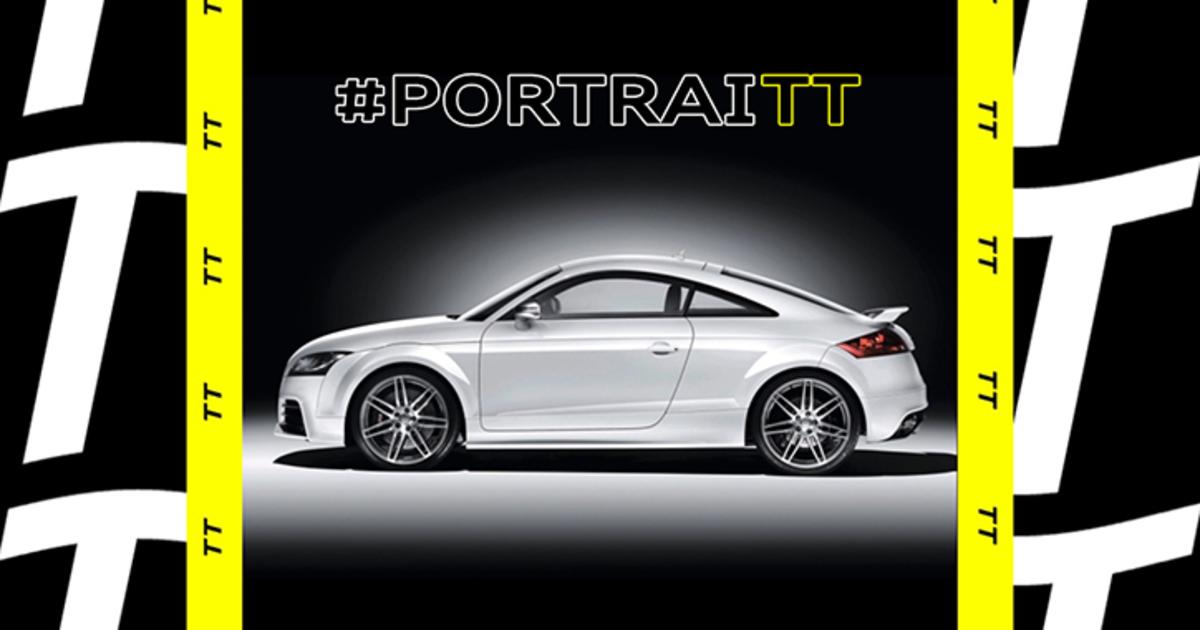 К 20-й годовщине Audi TT бренд проводит конкурс на лучший портрет авто.