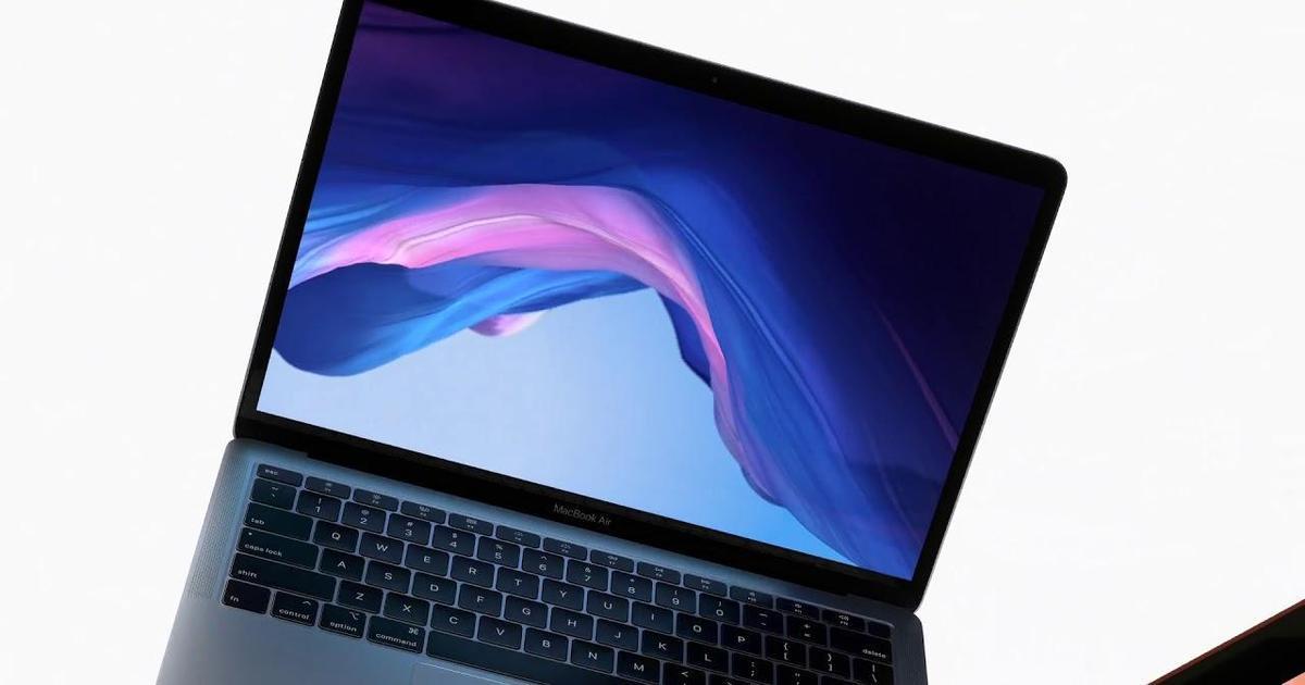 Apple представила новый MacBook Air.