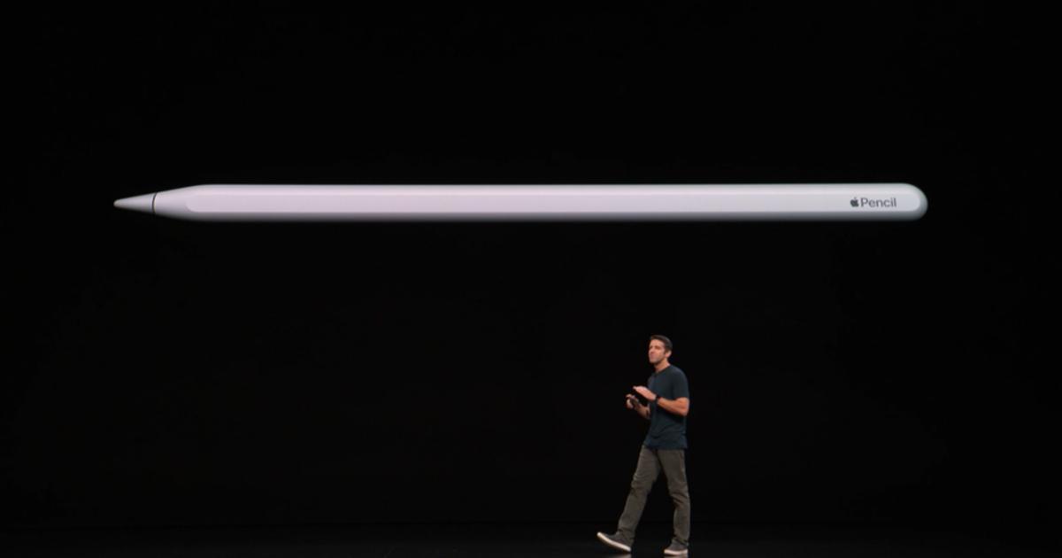 У обновленного Apple Pencil беспроводная зарядка и датчики касания.