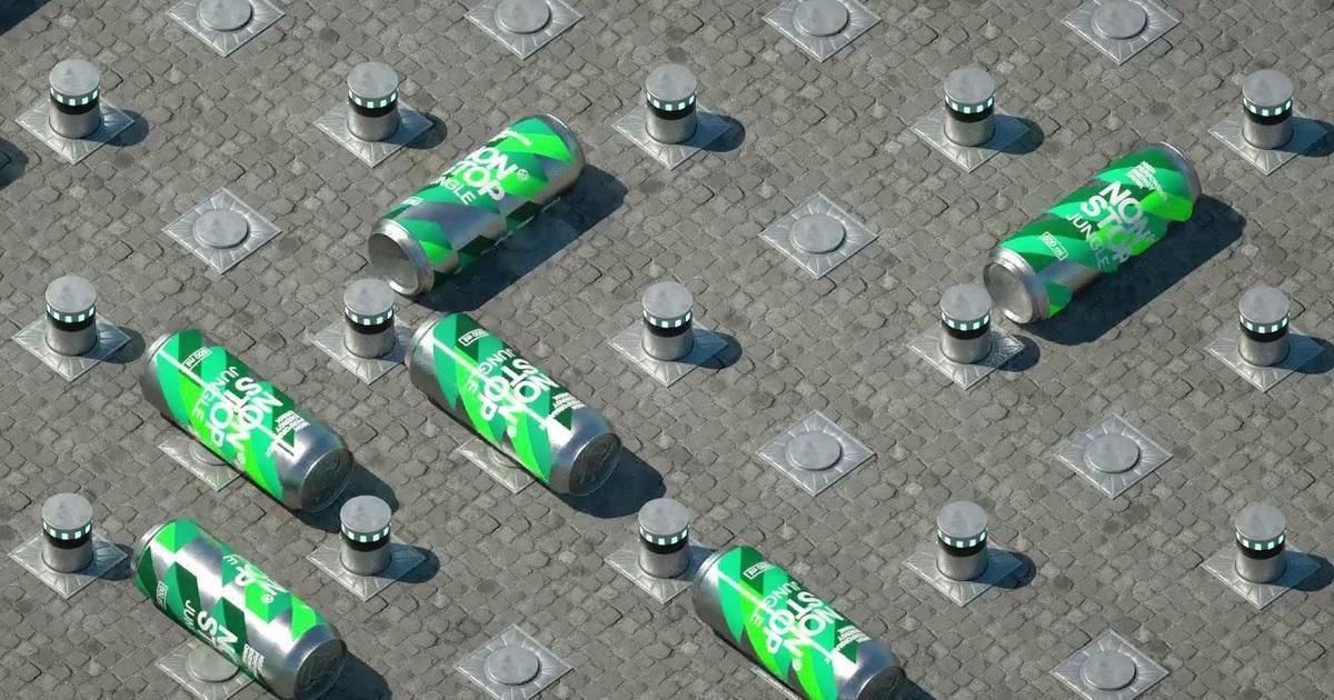 Об энергии NON STOP рассказали с помощью «бесконечных» роликов.