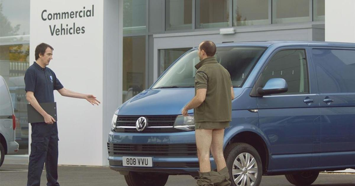 В ролике для Volkswagen призывают проводить диагностику тестикул.