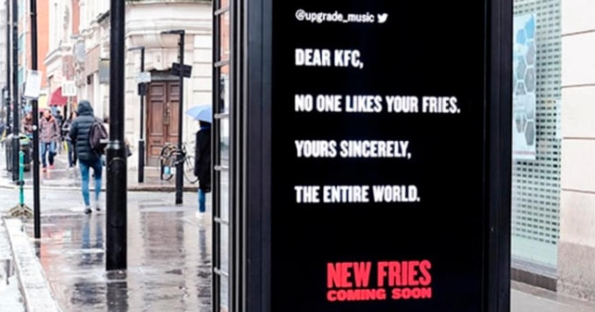 KFC превратила жалобы потребителей в рекламную кампанию.