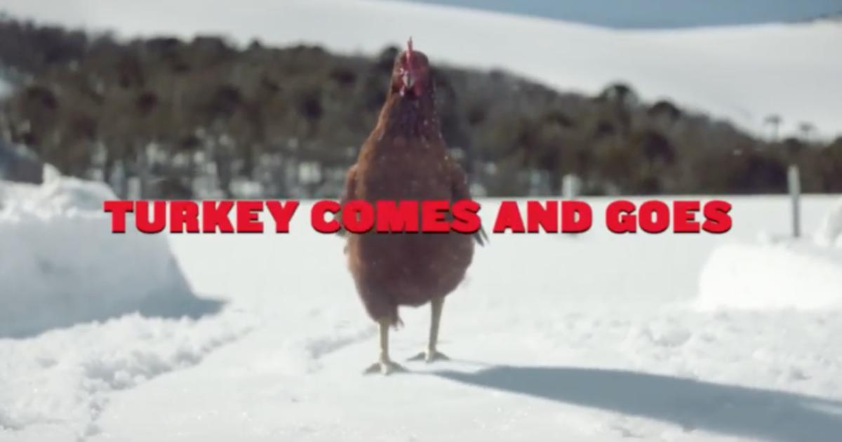 KFC выпустил рождественский ролик о курице.