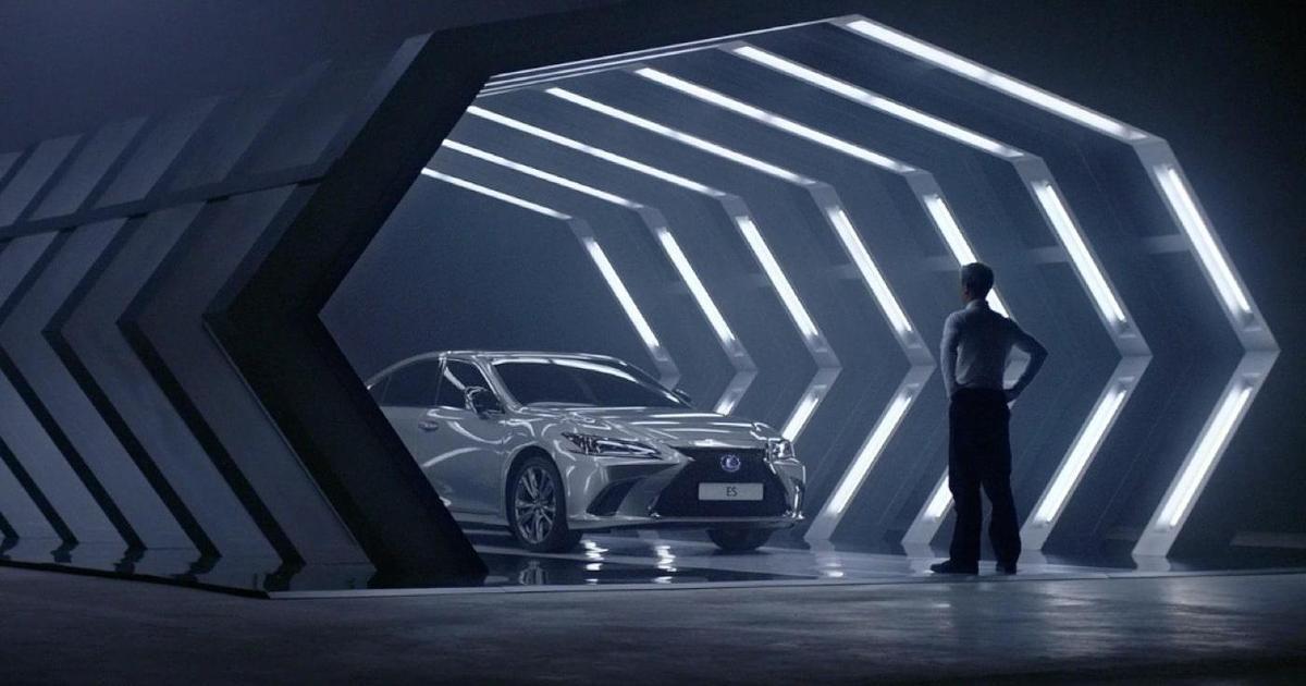 Lexus выпустил ролик, написанный AI.