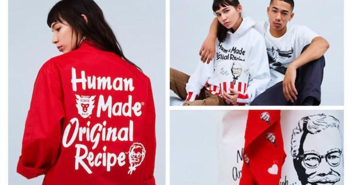 KFC выпустил коллекцию уличной одежды вместе с японским дизайнером.