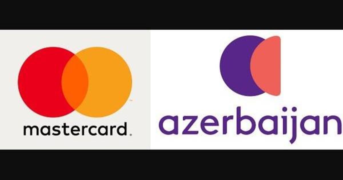 Новая айдентика Азербайджана напомнила лого Mastercard.
