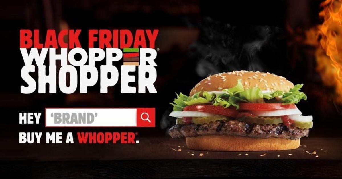 Burger King заставил другие бренды заплатить за бургер для фанатов.