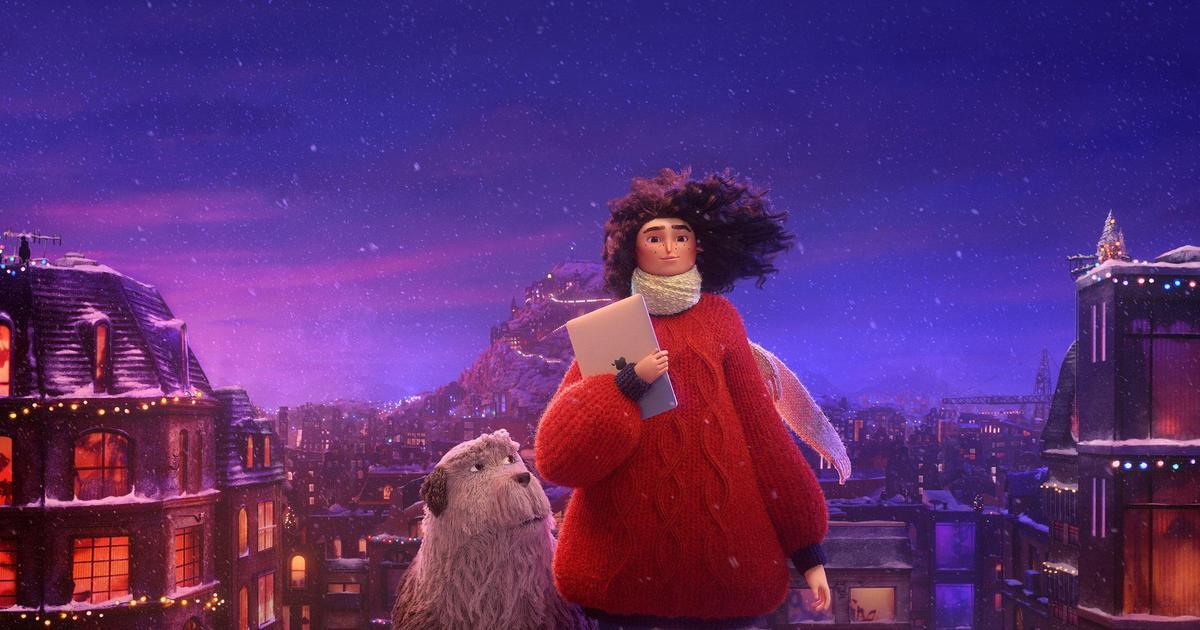 Apple объединила CGI и stop-motion в интегрированной рождественской кампании.