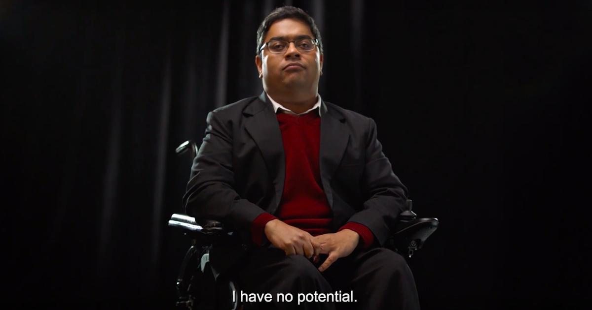 Channel 4 выпустил ролик о бесполезности людей с инвалидностью.