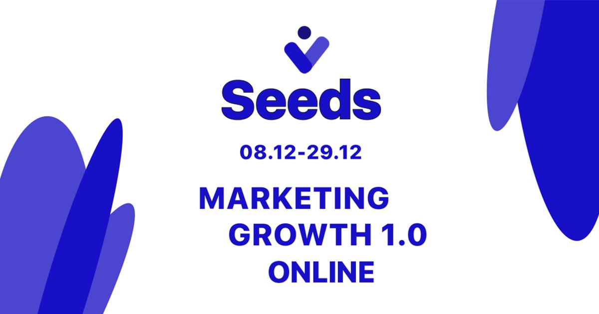 С 8 декабря стартует курс по маркетингу от академии онлайн-образования Seeds.