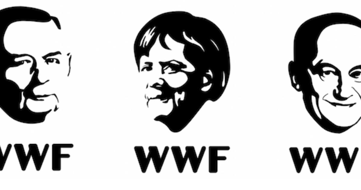 Люди стали вымирающий видом в кампании WWF.