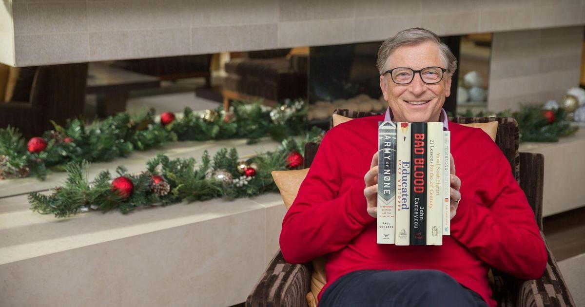 Топ-5 книг от Билла Гейтса на 2019 год.