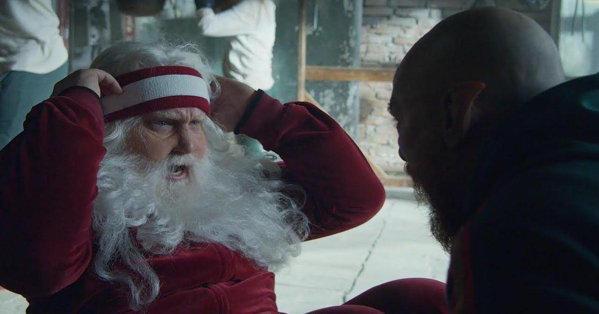 Санта сбросил лишние килограммы в рождественском ролике Audi.