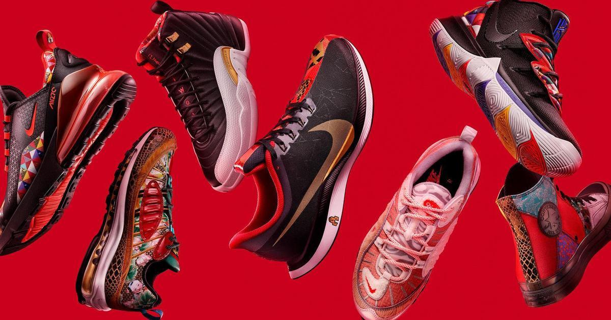 Nike вдохновился 12 знаками зодиака для новой коллекции.