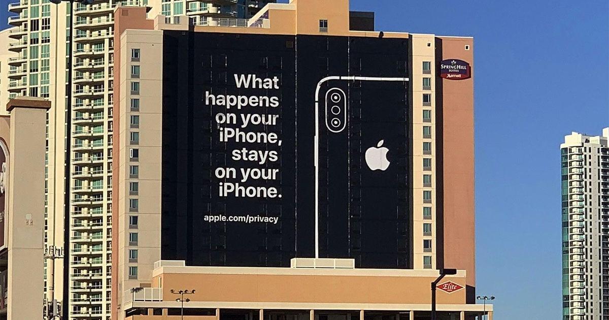 Apple потроллила конкурентов на CES.