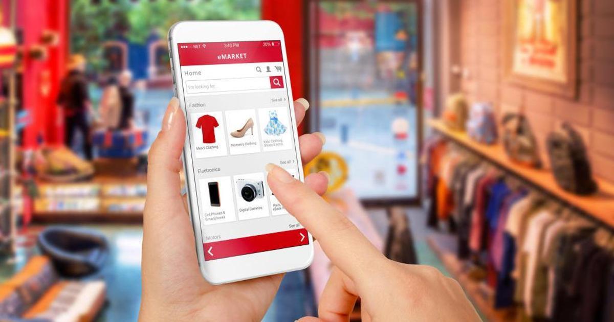 Инфографика: 73% миллениалов пользуются телефонами для шопинга в онлайне.