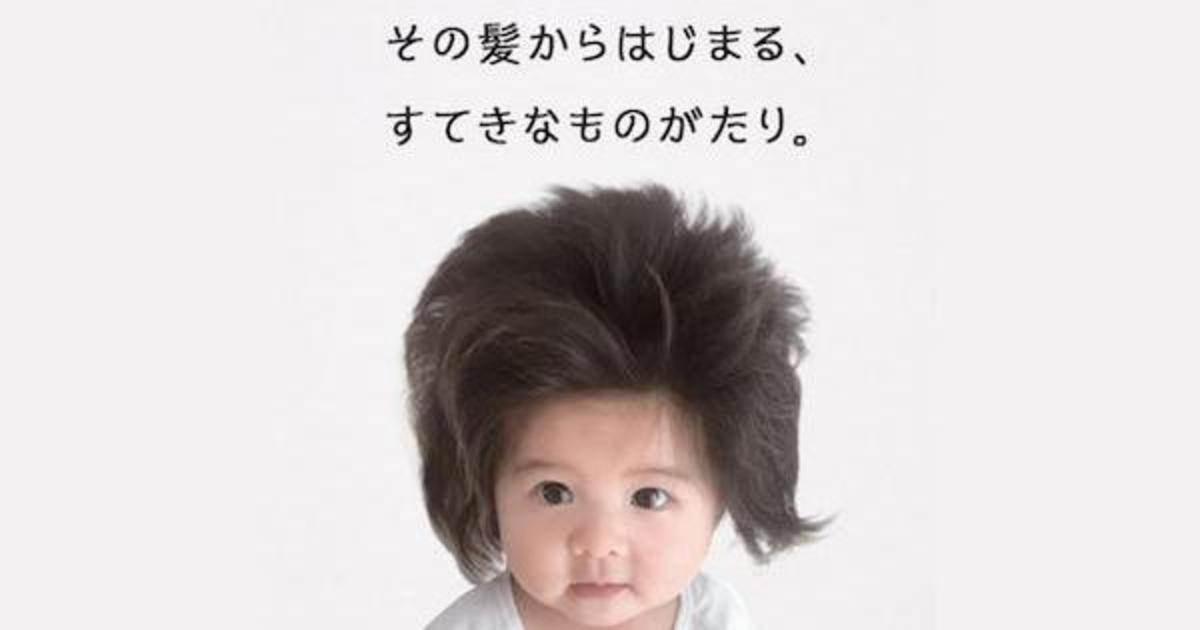 В рекламе Pantene снялся годовалый ребенок с густой шевелюрой.