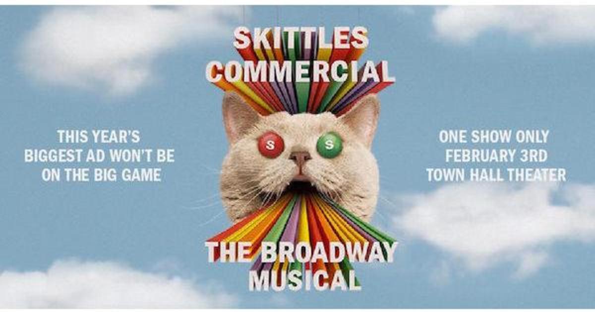 Skittles заменил ролик для Super Bowl на бродвейский мюзикл.