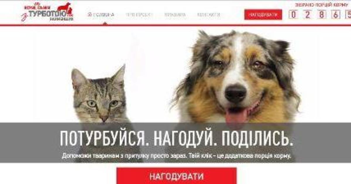 Royal Canin и UM предложили накормить животных с помощью кликов.