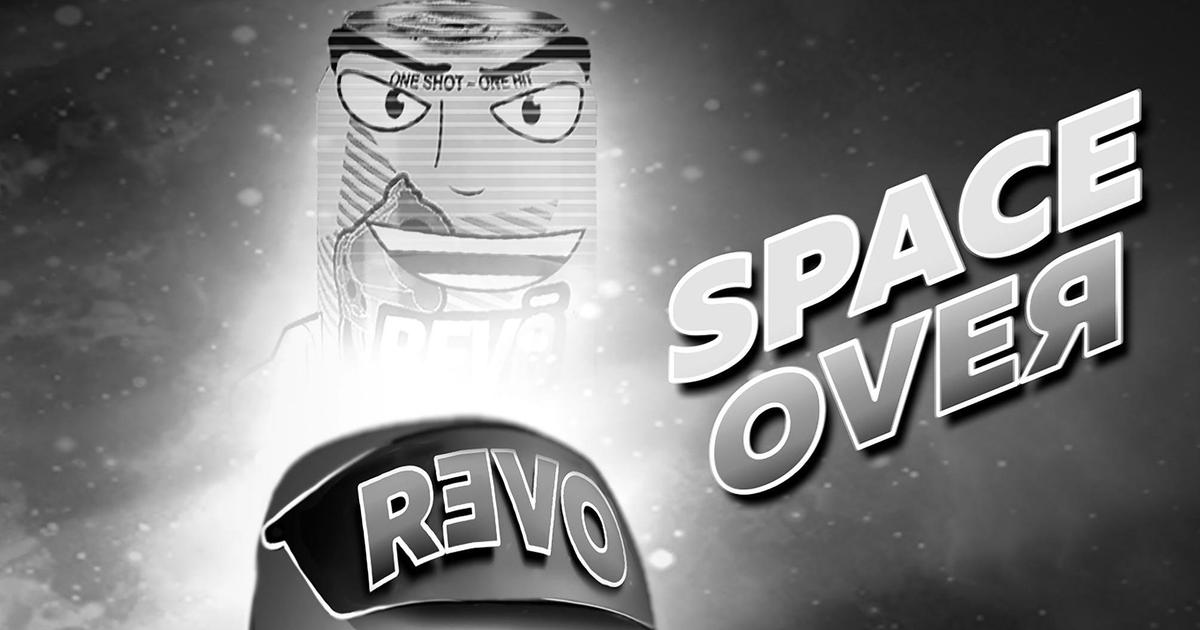 Черно-белый комикс REVO «SPACE OVEЯ» получил продолжение в Instagram.