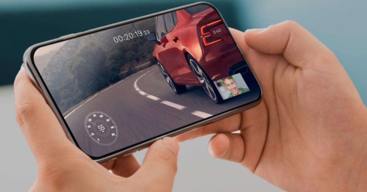 Volvo призвала зрителей смотреть на смартфон, а не Super Bowl, и выиграть авто.
