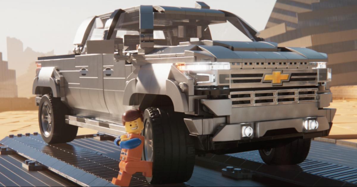 Lego и Chevrolet продвигают фильм «Lego. Фильм 2.