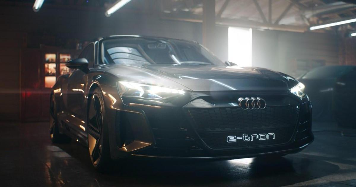 В Audi создали рекламу автомобиля, который собираются производить через два года.