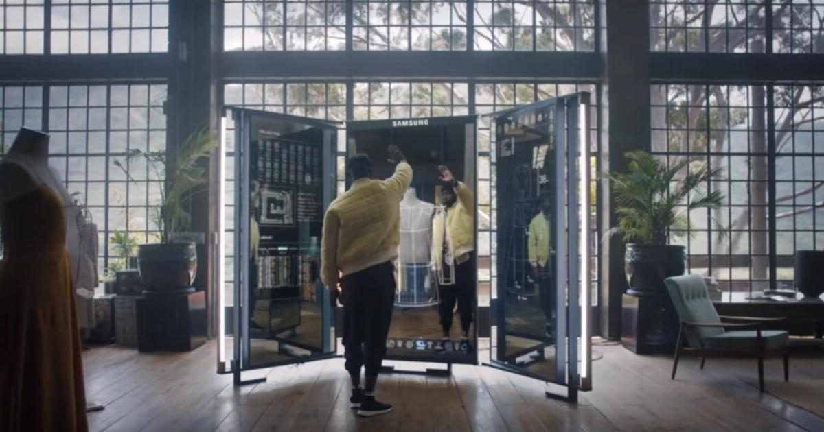 Кампания для Samsung Galaxy смотрит в будущее с саундтреком из прошлого.
