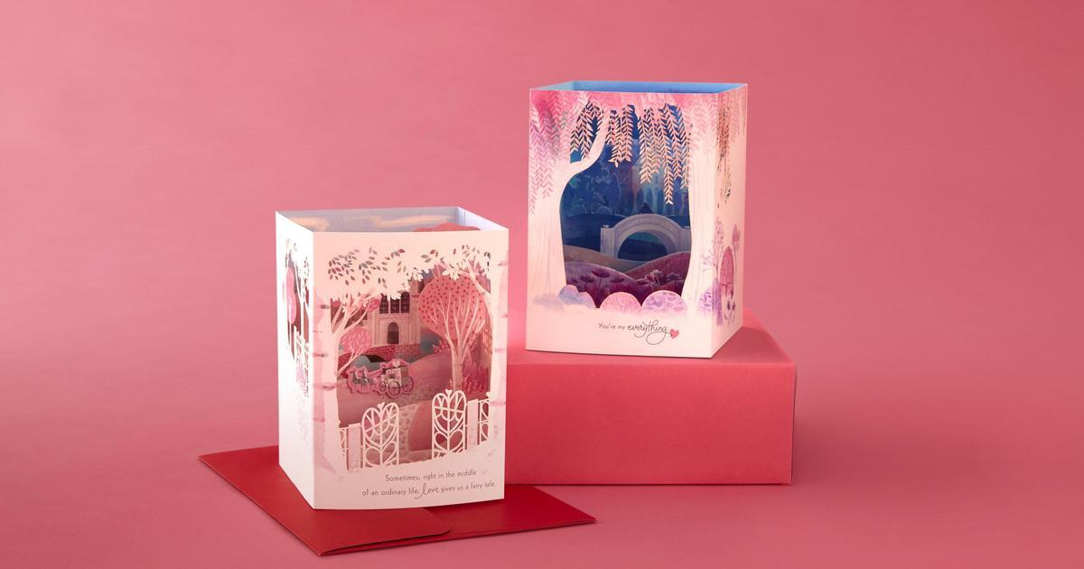 Hallmark выпустила 3D валентинки.