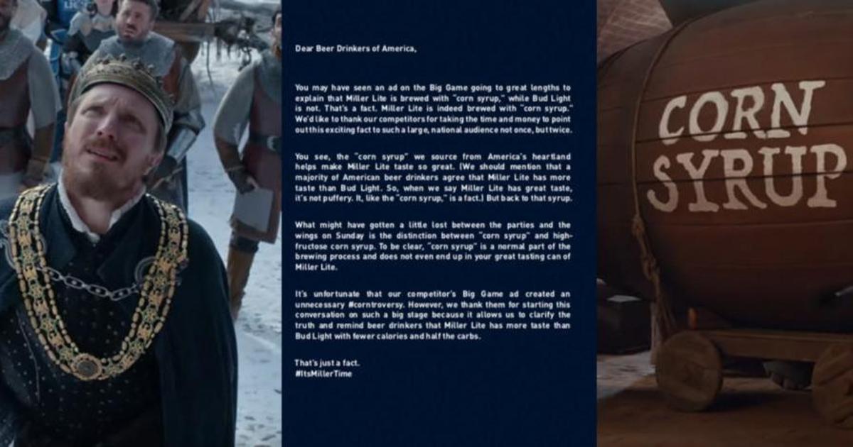 Bud Light и MillerCoors устроили рекламные войны из-за рецепта пива.